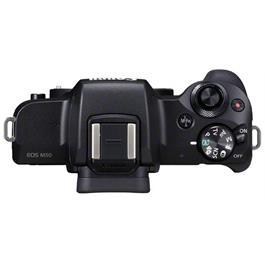 Canon EOS M50 Mirrorless Camera Body - Black Thumbnail Image 4